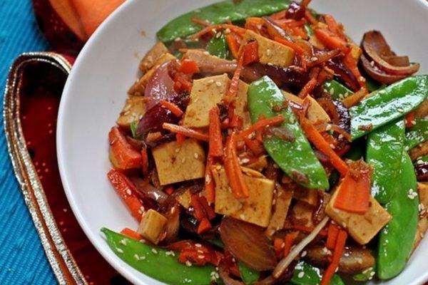 Honey Tofu Stir Fry