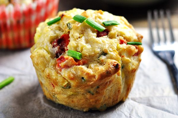 Zucchini Omelette or a muffin